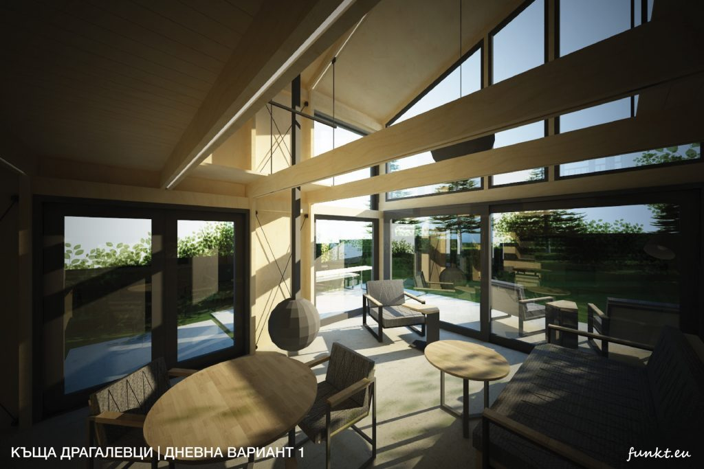 single family house project, house, architecture