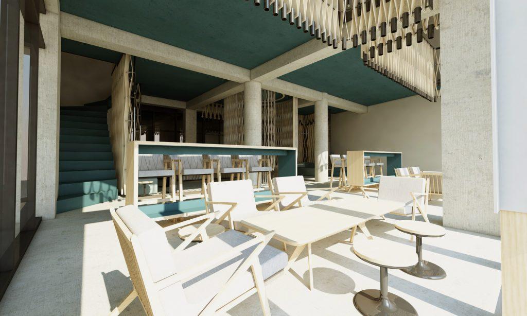 cafe design, interior design