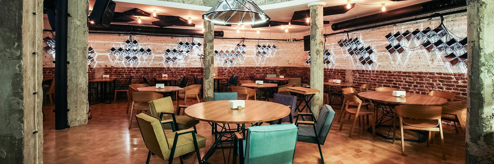 cosmos, restaurant design, gourmet restaurant