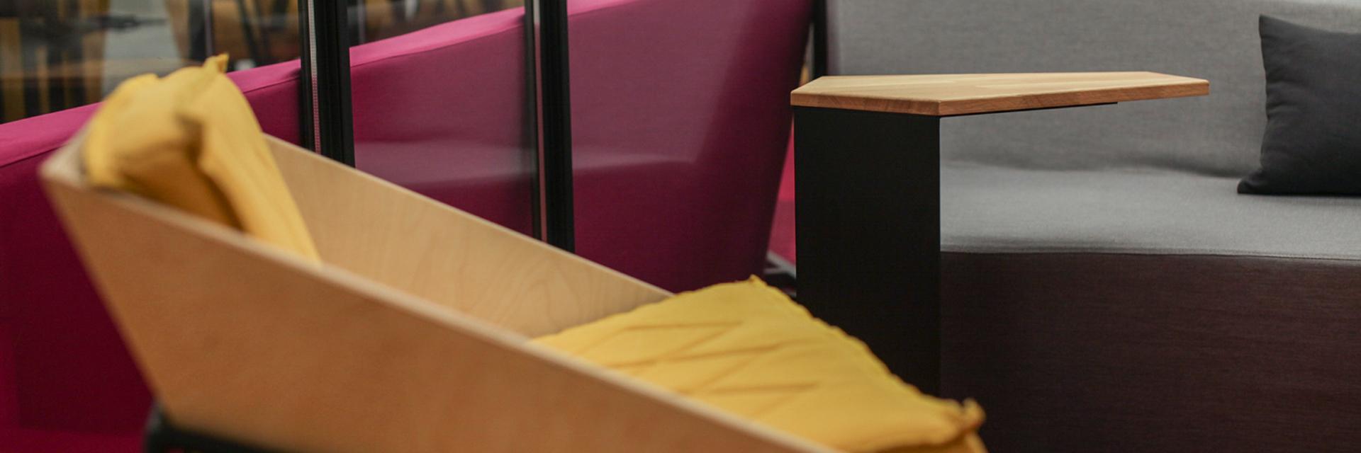 leanplum, sofa, armchair design, lounge area